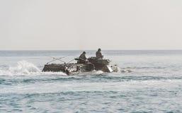 Плавающий транспортер Стоковые Изображения