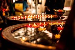 Плавая лампа свечи Стоковые Фотографии RF