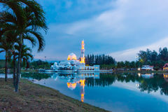 плавая мечеть Стоковые Фото