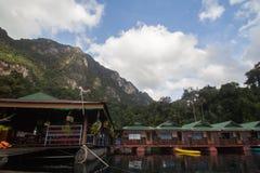 Плавая озеро курорта Стоковое Изображение