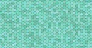Плавая поверхностное сделанное с шестиугольниками стоковое фото