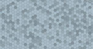 Плавая поверхностное сделанное с шестиугольниками стоковые фото