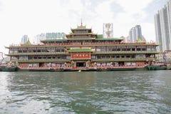 плавая ресторан kong громоздк hong стоковые изображения rf