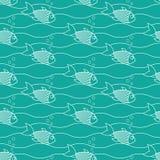 Плавая рыбы Стоковое фото RF