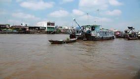 плавая рынок Вьетнам акции видеоматериалы