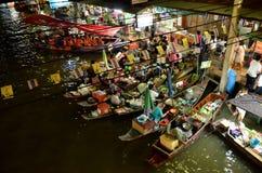 Плавая рынок, Таиланд Стоковая Фотография RF