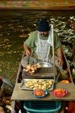 Плавая рынок, Таиланд Стоковые Изображения
