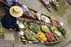 плавая рынок Таиланд Стоковое Фото