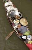 плавая рынок Стоковые Фотографии RF