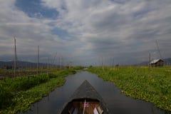 Плавая сад Стоковая Фотография RF