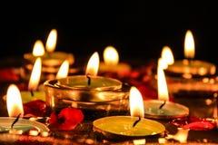 Плавая свечи Стоковые Изображения RF