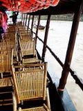 плавая село Вьетнама Стоковые Изображения