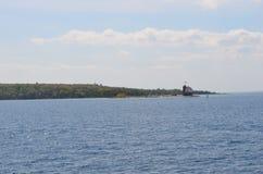 Плавая система маяка Стоковая Фотография RF