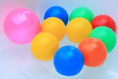 Плавая шарики Стоковая Фотография