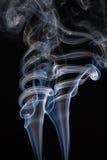 Плавая дым Стоковая Фотография