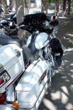 Плавное движение Harley Davidson Electra стоковая фотография rf