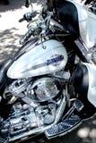 Плавное движение Harley Davidson Electra стоковое изображение