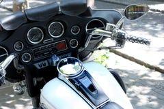 Плавное движение Harley Davidson Electra стоковое изображение rf