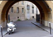 Плавное движение Harley Davidson Electra Стоковые Фото
