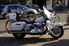 Плавное движение Harley Davidson Electra стоковая фотография