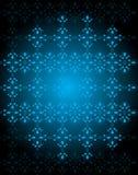 Плавно обои с синими тонами цвета иллюстрация штока