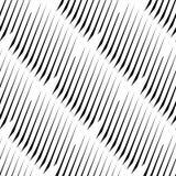 Плавно repeatable геометрическая картина - абстрактный monochrome ба Стоковая Фотография RF