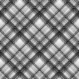 Плавно repeatable геометрическая картина - абстрактный monochrome ба Стоковое фото RF