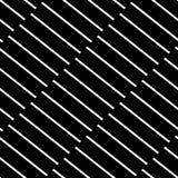 Плавно repeatable геометрическая картина - абстрактный monochrome ба Стоковые Изображения