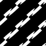 Плавно repeatable геометрическая картина - абстрактный monochrome ба Стоковое Фото