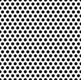 Плавно repeatable картина с точками, кругами Monochrome abs иллюстрация штока