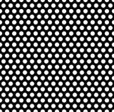 Плавно repeatable картина с точками, кругами Monochrome abs Стоковое фото RF