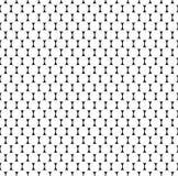 Плавно repeatable картина с точками, кругами Monochrome abs Стоковые Фото