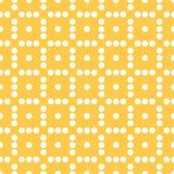 Плавно repeatable ставить точки, точечный растр польки Картина с mo Стоковое Фото