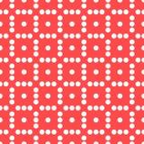 Плавно repeatable ставить точки, точечный растр польки Картина с mo Стоковые Фотографии RF