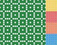 Плавно repeatable ставить точки, точечный растр польки Картина с mo Стоковая Фотография RF