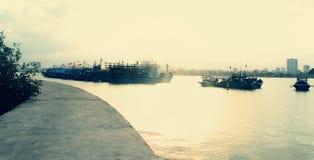 Плавучая база Стоковое Изображение RF