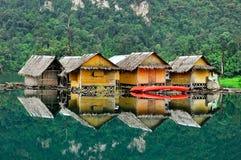 Плавучие дома стоковое изображение rf