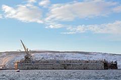 Плавучий док Стоковое Фото