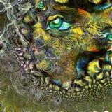 Плавя глаз фрактали бесплатная иллюстрация