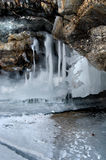 Плавя ледники Стоковые Изображения