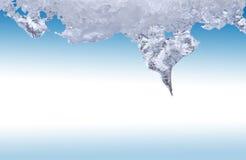 Плавя лед стоковая фотография rf