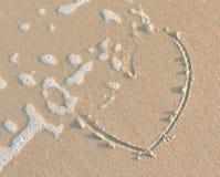 Плавя сердце стоковая фотография