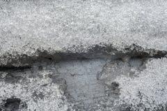 плавя снежок Стоковое Изображение RF