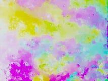 Плавя цвета Стоковые Изображения