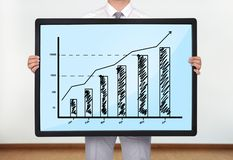 Плазма с диаграммой Стоковые Фотографии RF