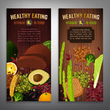 Плакаты витамина B9 Стоковые Фотографии RF