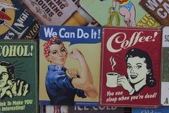 Плакаты Нью-Йорка для продажи Стоковое фото RF