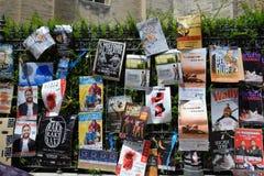 Плакаты, фестиваль театра Авиньона Стоковое Изображение