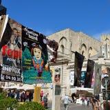 Плакаты, фестиваль театра Авиньона Стоковое Изображение RF