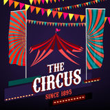 Плакаты цирка винтажные Стоковое фото RF